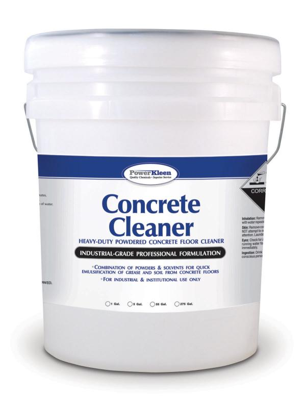 Concrete cleaner jamson labs power kleen for Cement cleaning products